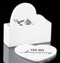 Glassbrikker S/4 ''You are amazing'' 11,5cm