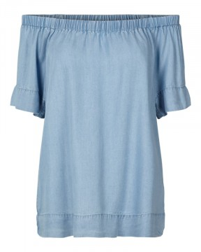 Freequent | Allie Blouse, Light Blue