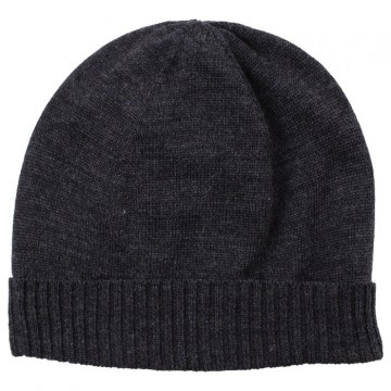 Nordic Label | Knit Wool Hat, dark grey melange