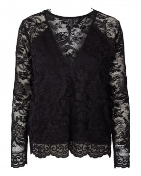 FreeQuent Lacia-blouse Black