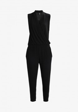Freequent | Starka Jumpsuit / buksedress, sort