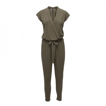 Freequent | Amy Jumpsuit, Army Green