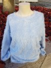 Freequent | Fluffy Pullover Cashmere blue thumbnail