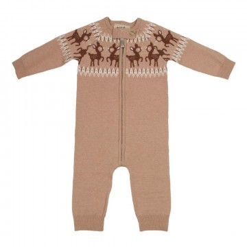 Memini | Fawn Baby Overall Tuscany