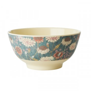 Rice | Melamine Bowl Fall Flower Print