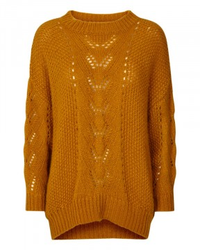 Freequent | Ria Pullover spiced yellow