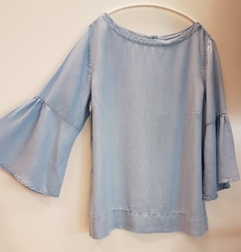 Freequent | Pretty Blouse, Light Blue