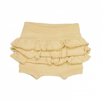 Memini | Hilde Baby Knit Bloomer pale yellow