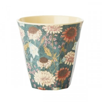 Rice | Melamine Cup Fall Flower Print