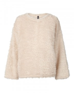Freequent | Fluffy Pullover Moonbeam