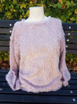 Freequent | Fluffy Pullover Adobe rose