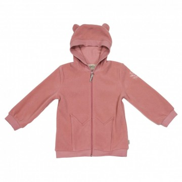 Memini | Alaska Fleece Hoodie, burned rose