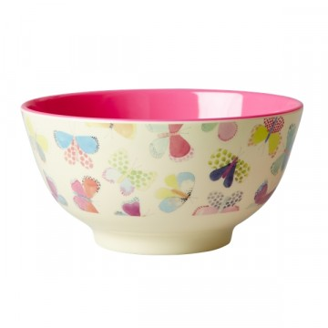 Rice | Melamine Bowl Butterfly Print
