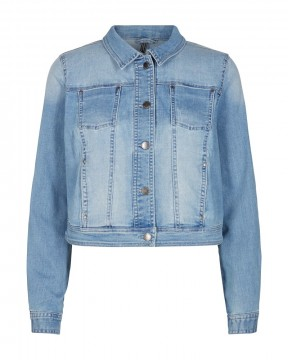FreeQuent | Alba Jacket Demin, medium blue