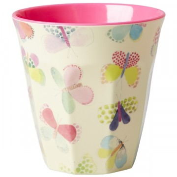 Rice | Melamine Cup Butterfly Print