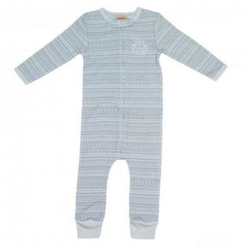 Memini Woolcell Overall, pale blue