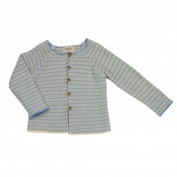 Memini | Frikk Baby Cardigan cloud blue