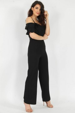 Missi | Jumpsuit / Buksedress, sort