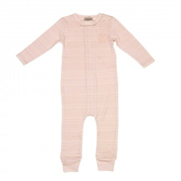 Memini Woolcell Overall, pale pink